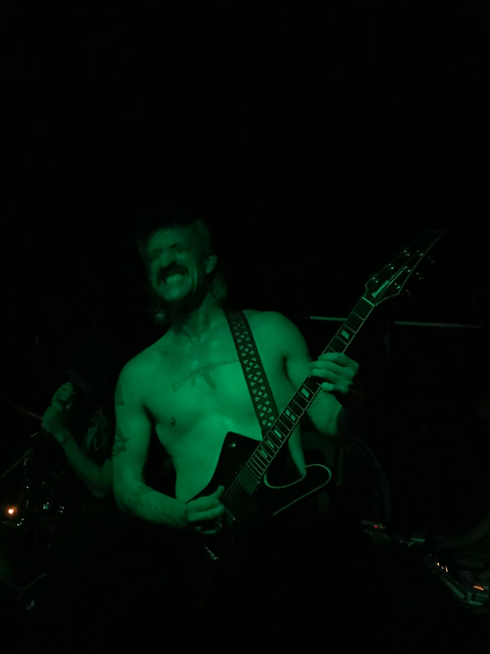 Jeramy Gritter, Guitarist for The Voidz, Preforming at Boot & Saddle in Philadelphia, PA-06.25.18