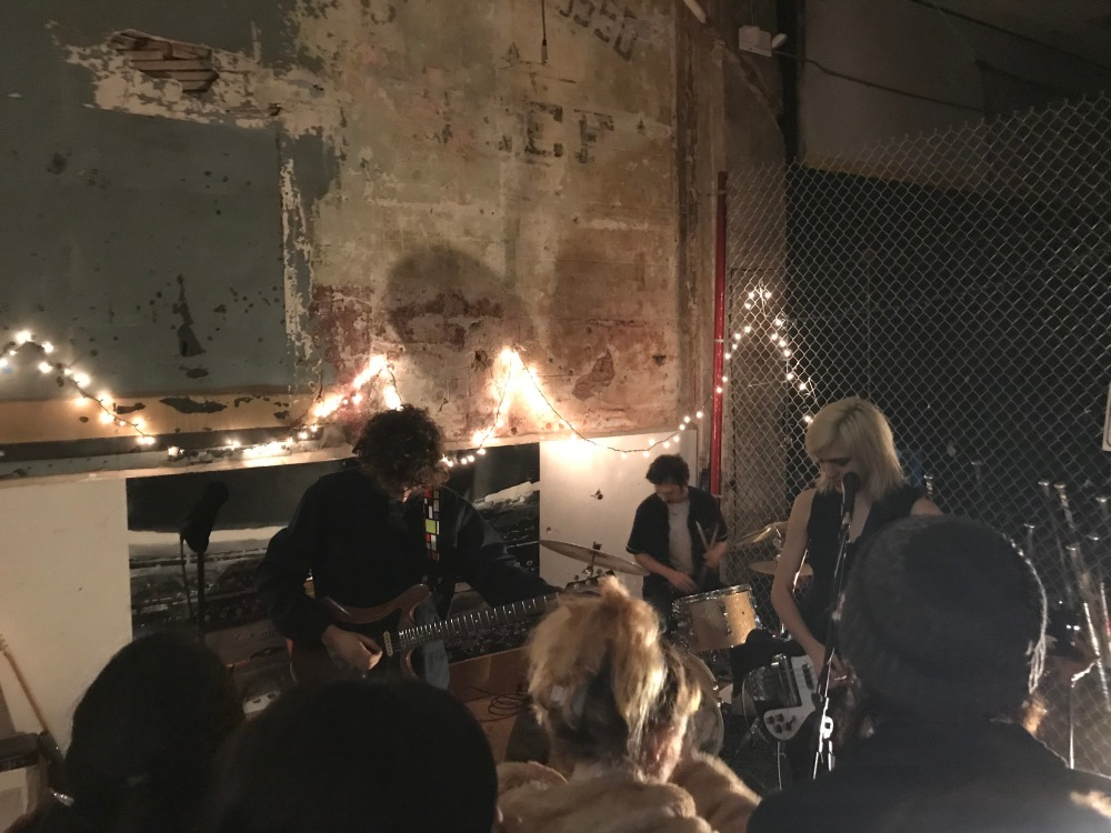 Sunflower Bean Performing at Everybody Hits in Philadelphia, PA- 01.26.18